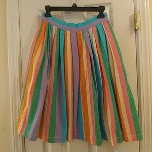 Pastel Stripped Skirt